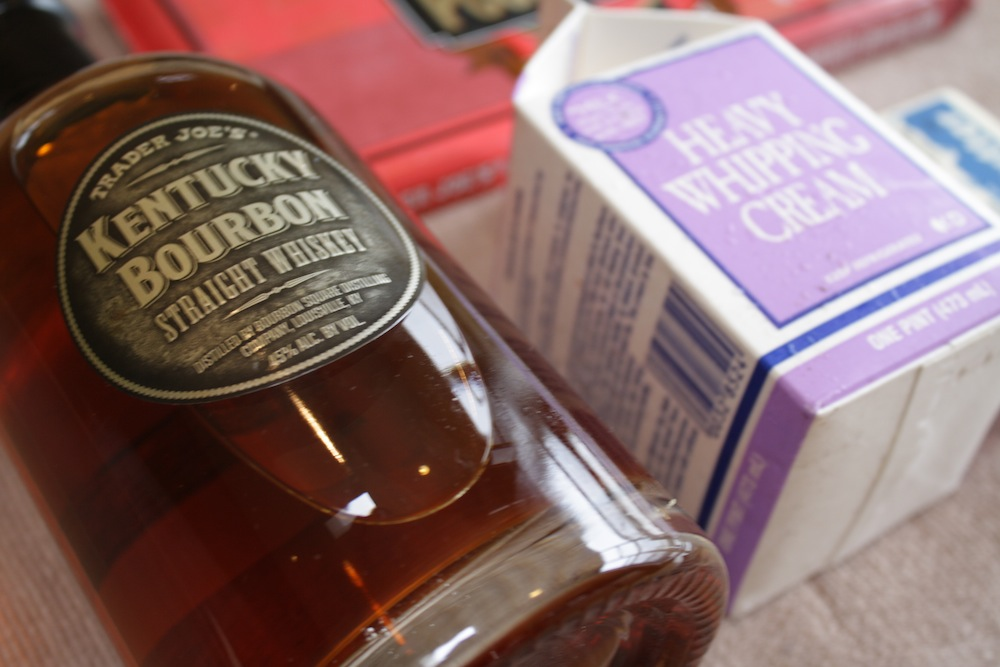 Pumpkin-Walnut Cakes with Bourbon-Chocolate Sauce