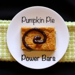Pumpkin Pie Power Bars