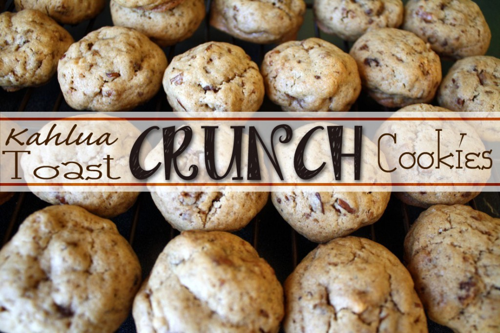 Recipe: Kahlua Toast Crunch Cookies