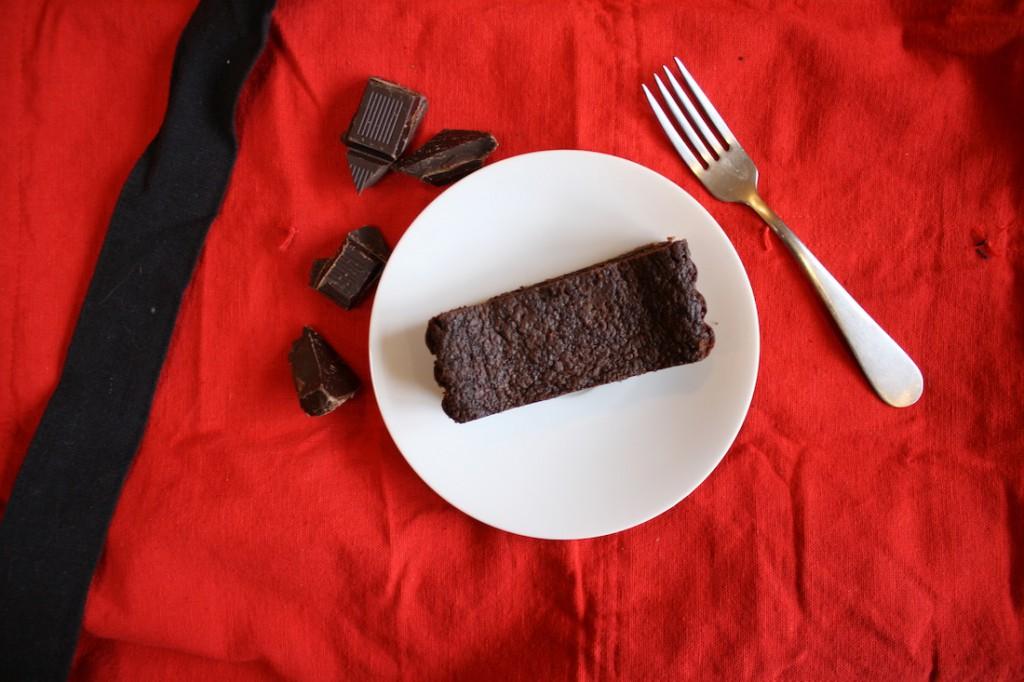 Throwback Thursday: Fallen Chocolate Soufflé Tart