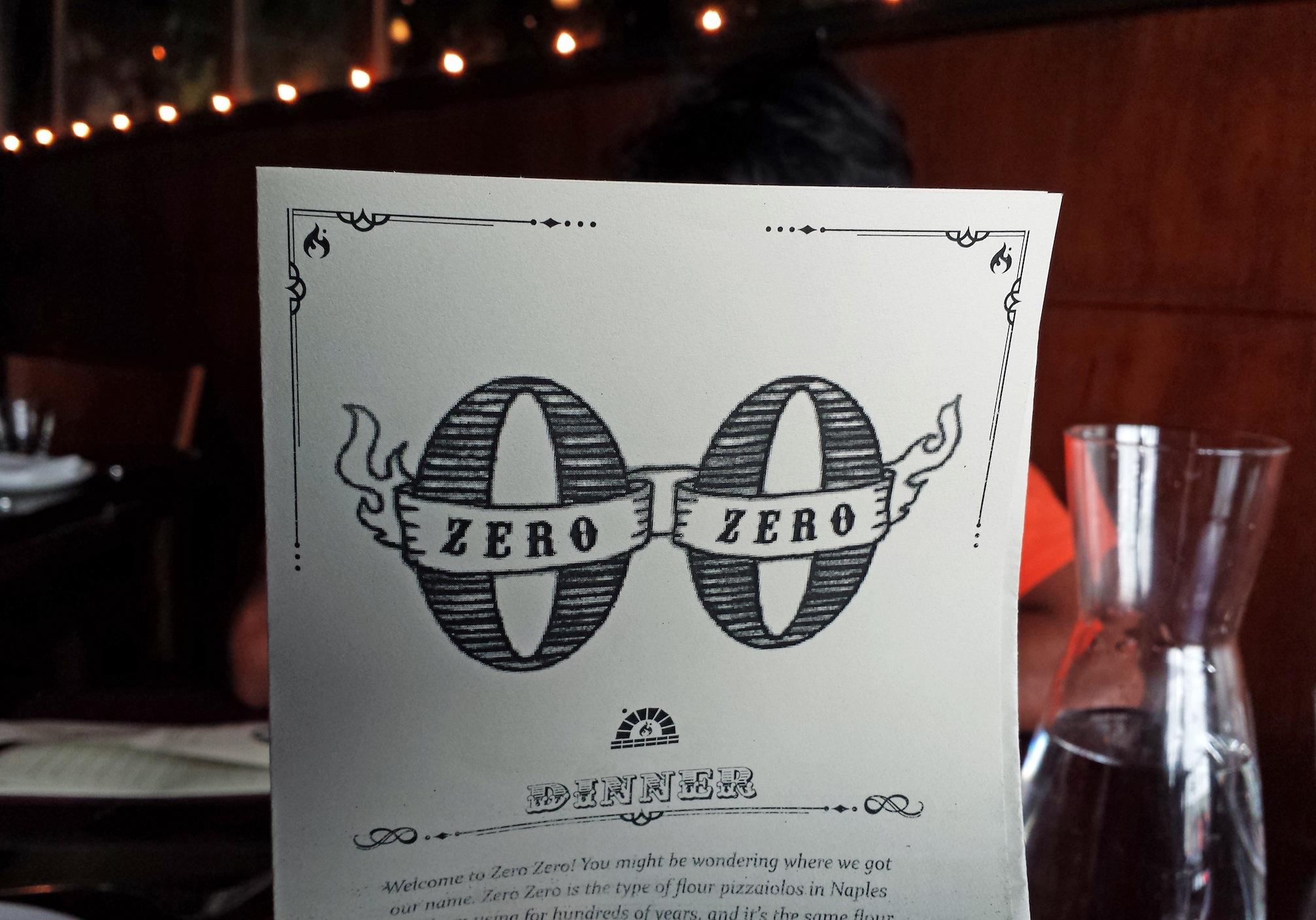 Zero Zero Restaurant