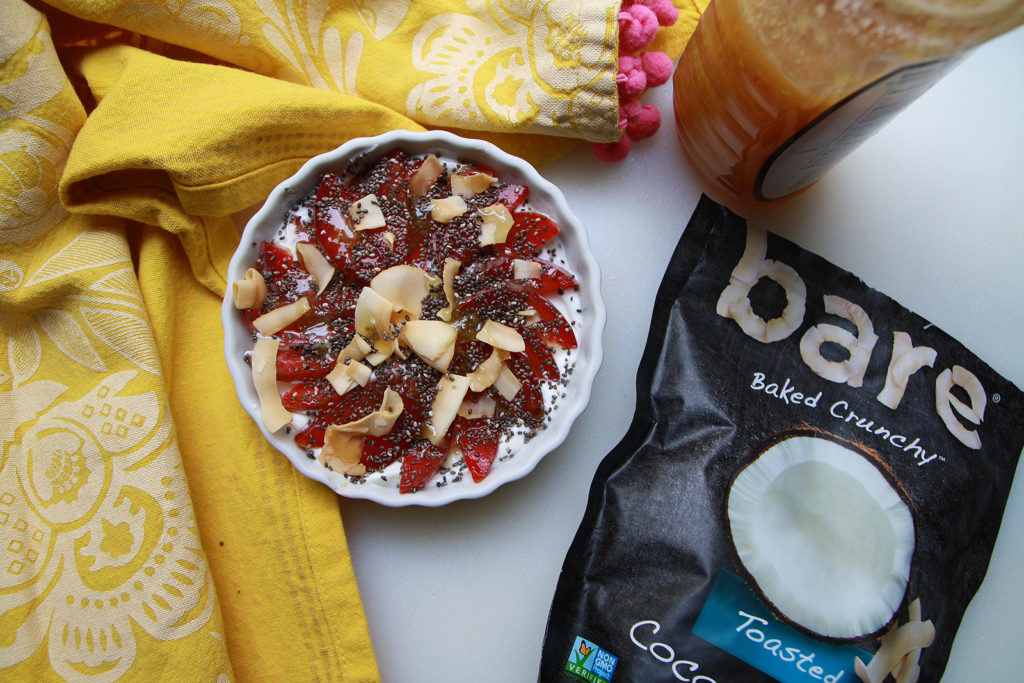 Recipe: Breakfast with Bare Snacks