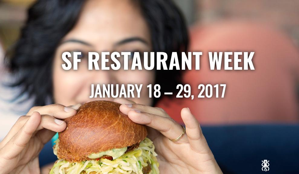 SF RESTAURANT WEEK 2017