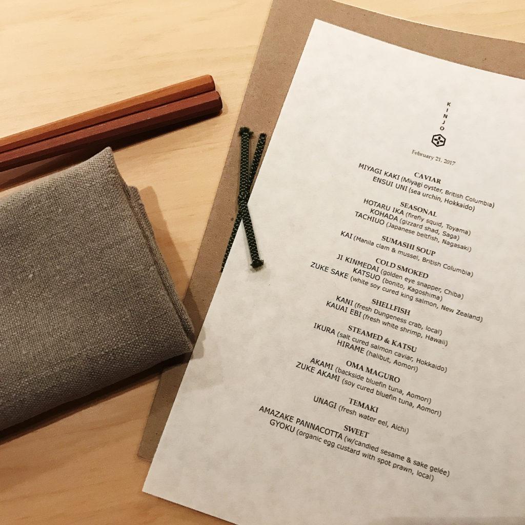Review: Kinjo Restaurant