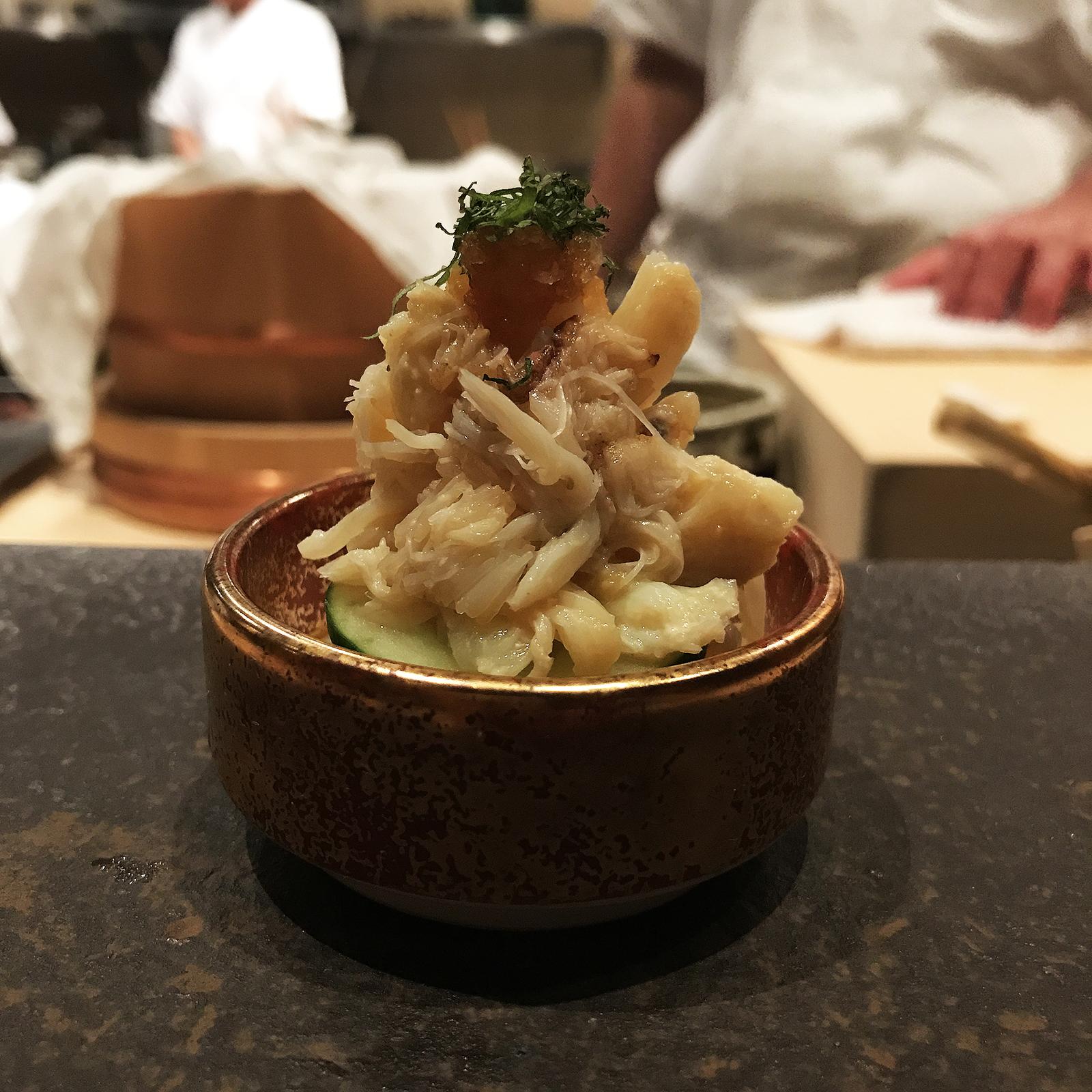 Kinjo omakase menu