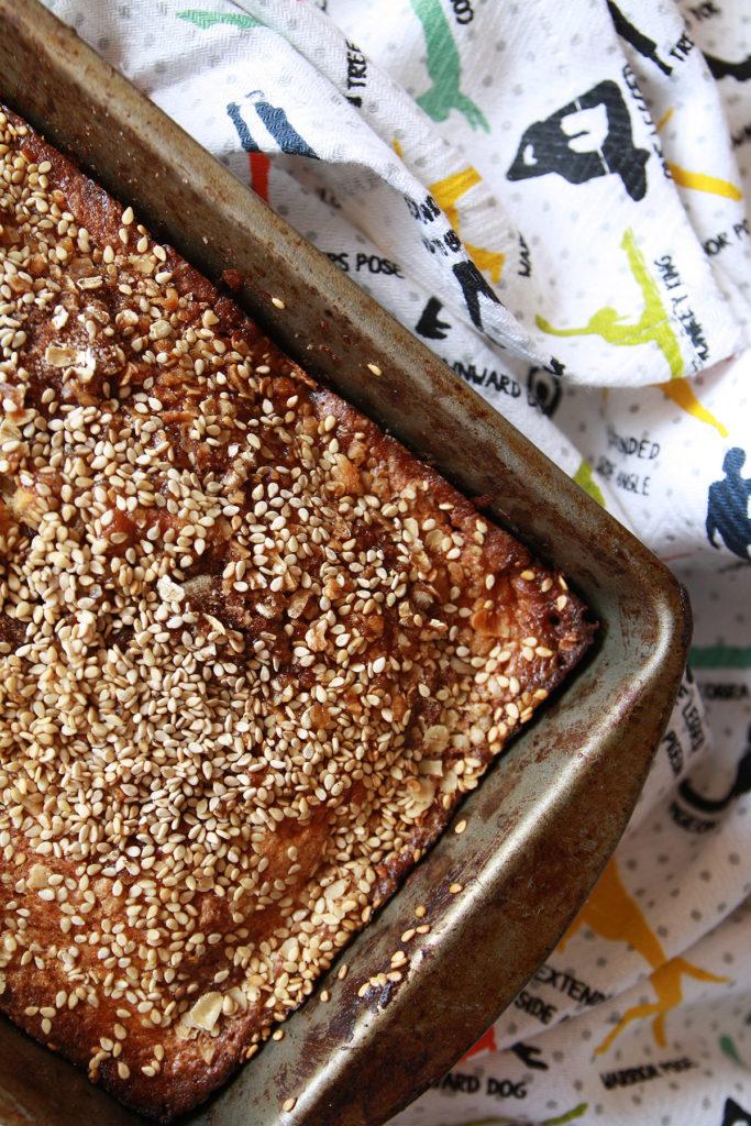 Recipe: Sesame Snickerdoodle Loaf