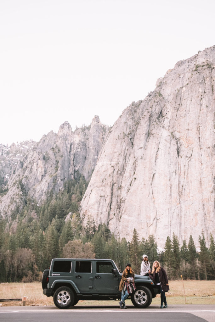 Travel Yosemite With Getaround
