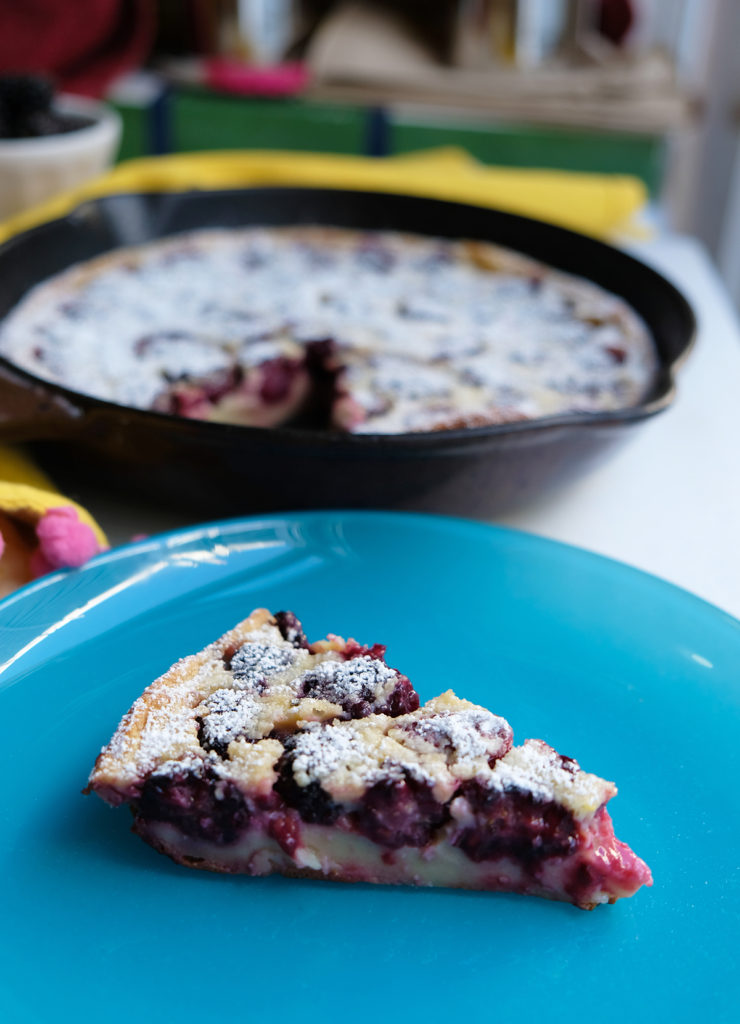 Recipe: Summer Blackberry Clafouti