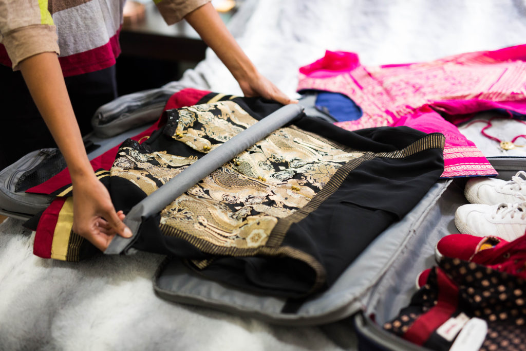 packing suits into travelpro luggage