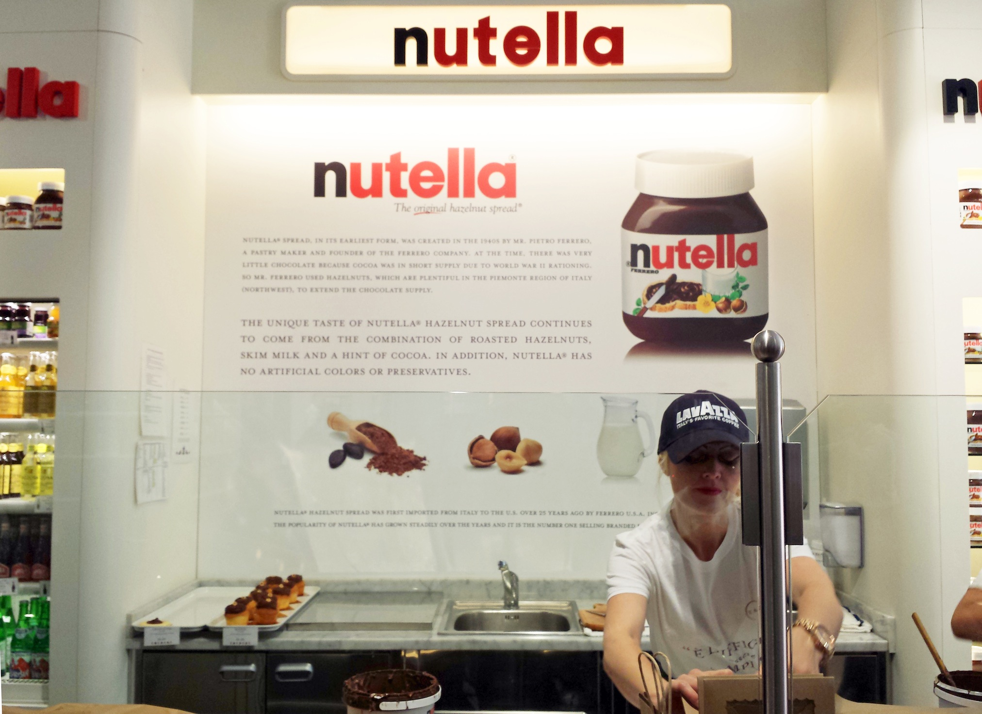 Eataly Nutella Bar