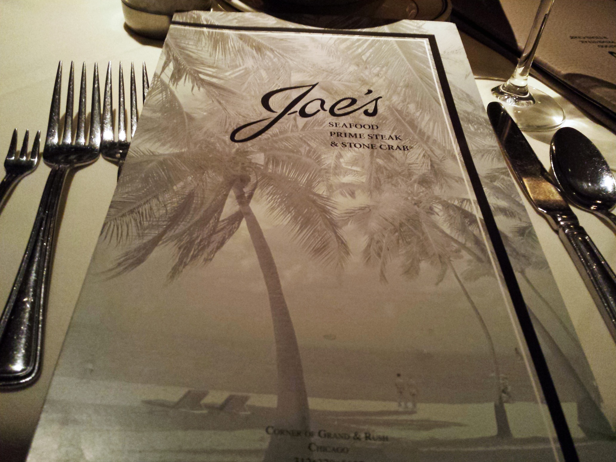 Joe's Seafood Prime Steak & Stone Crab