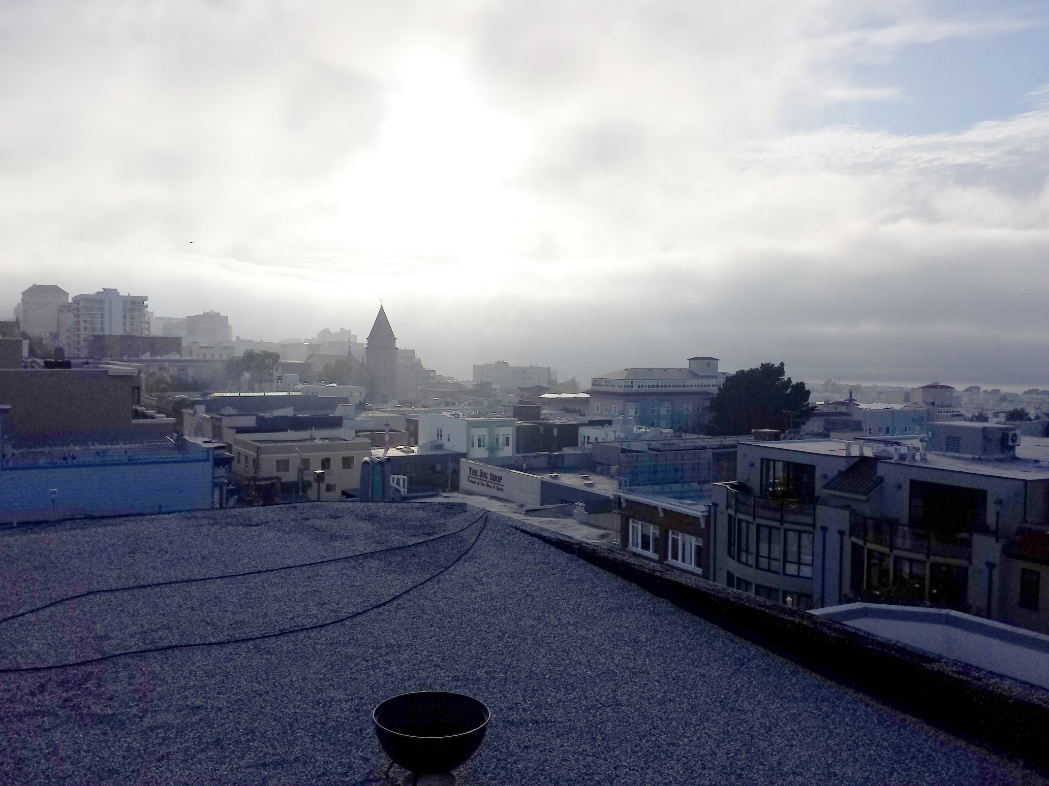 SF rooftops