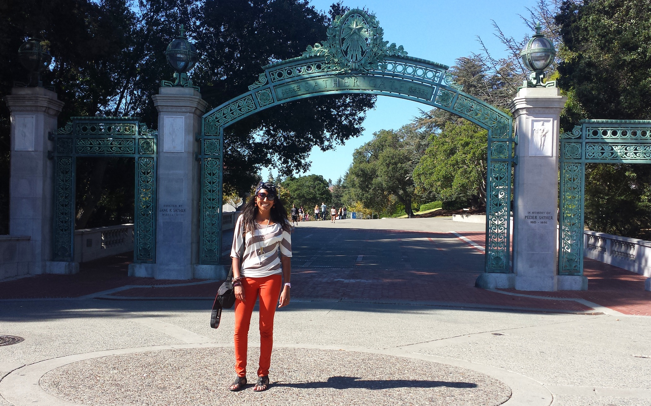UC Berkeley Sather Gate