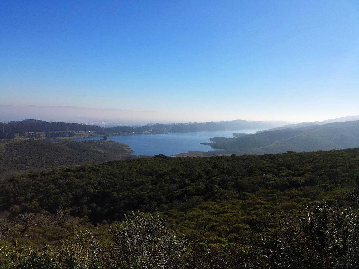 Sweeney Ridge Trail in Pacifica