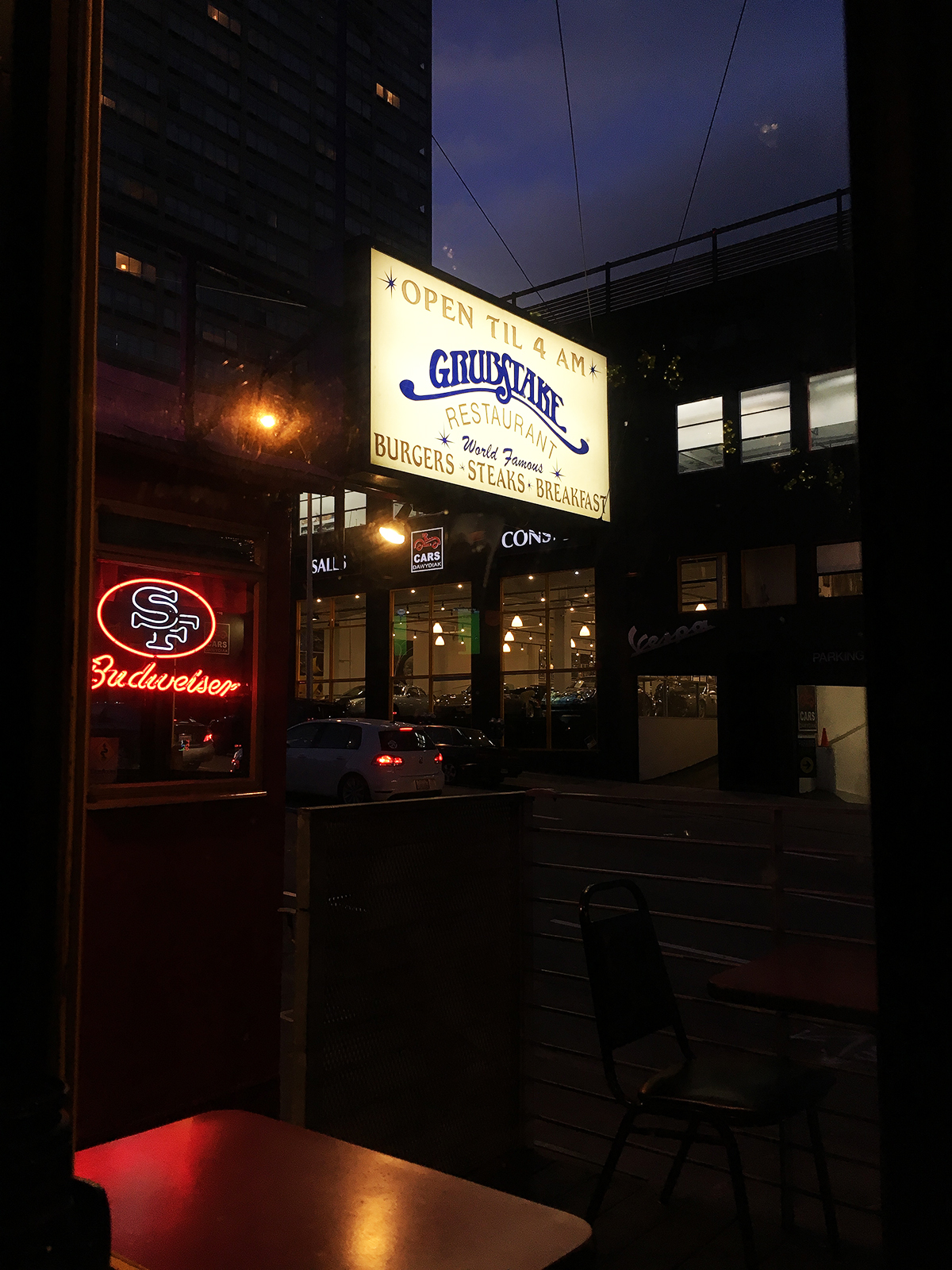 Grubstake Diner SF