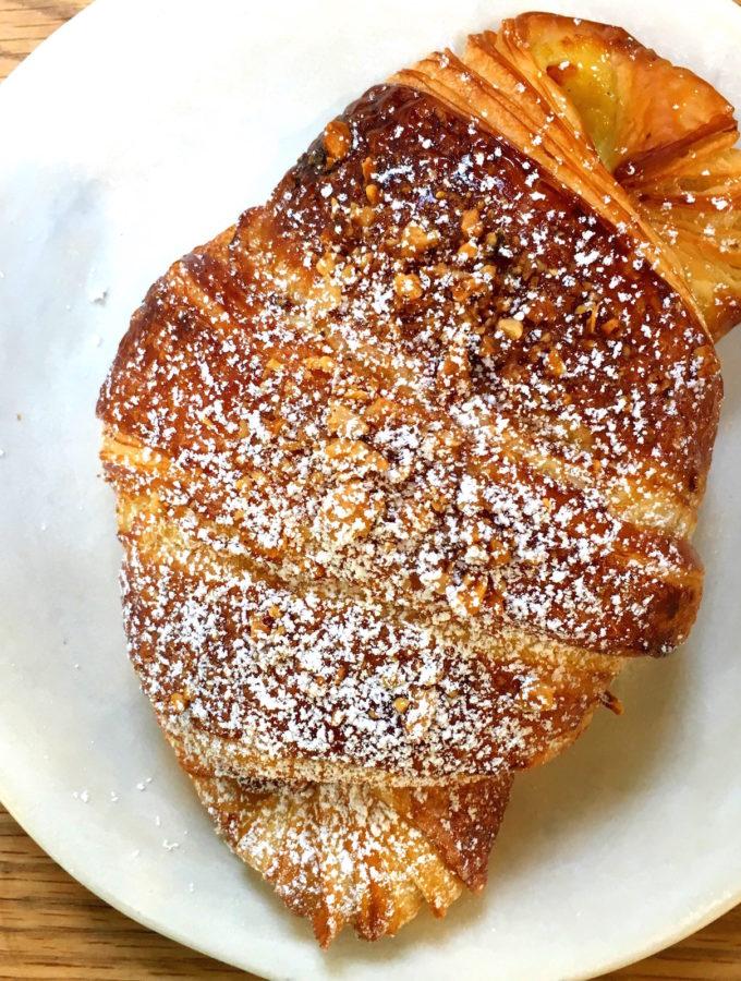 Hazelnut croissant Vive la Tarte