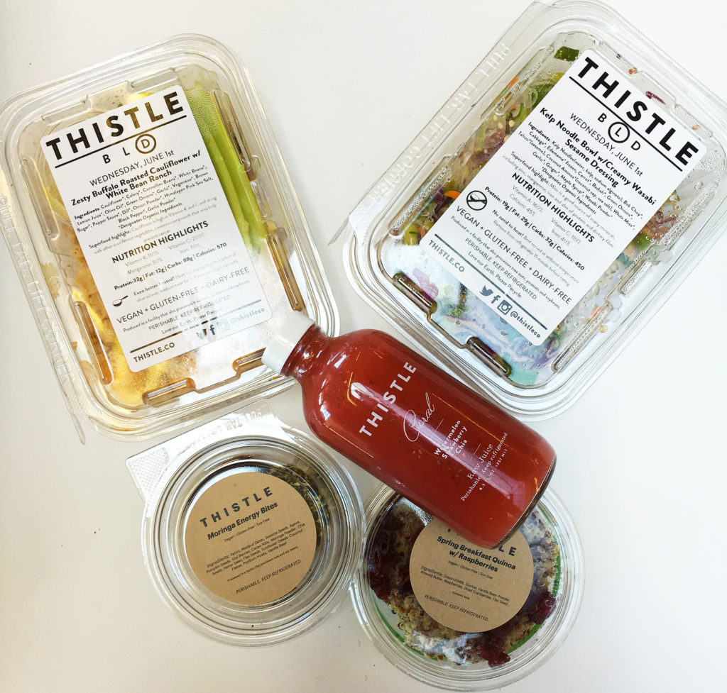 Thistle - Eat better Save Time