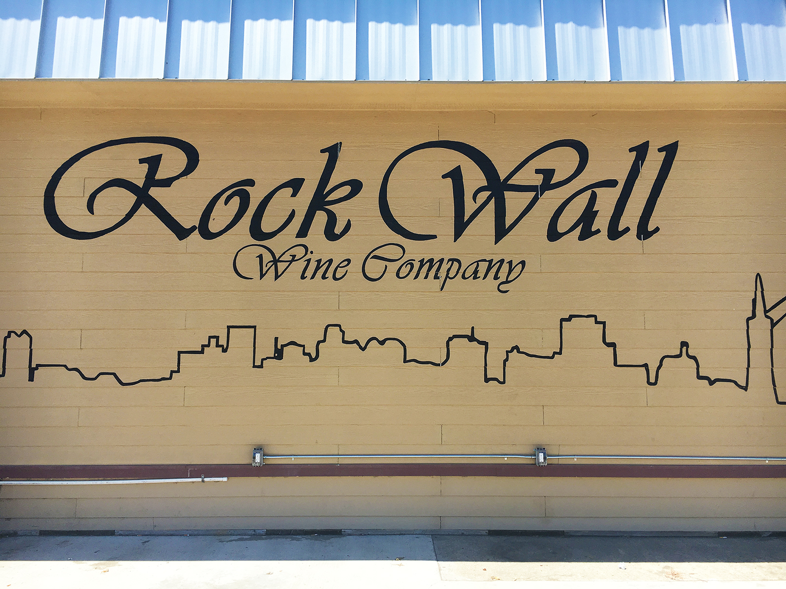 Rock Wall Winery Alameda