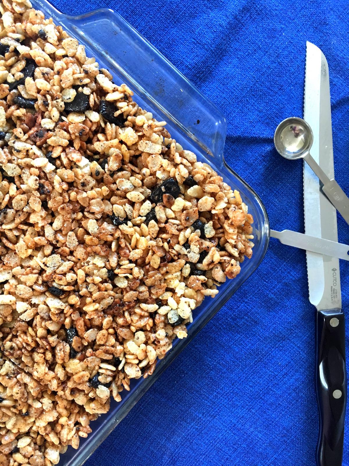 Recipe: Brown Butter Oreo Nutella Rice Krispie Treats
