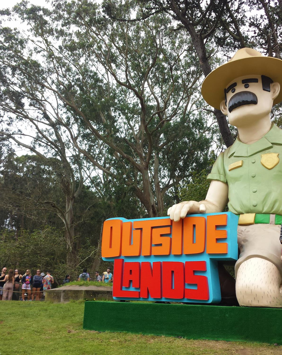 Outside Lands Ranger Dave