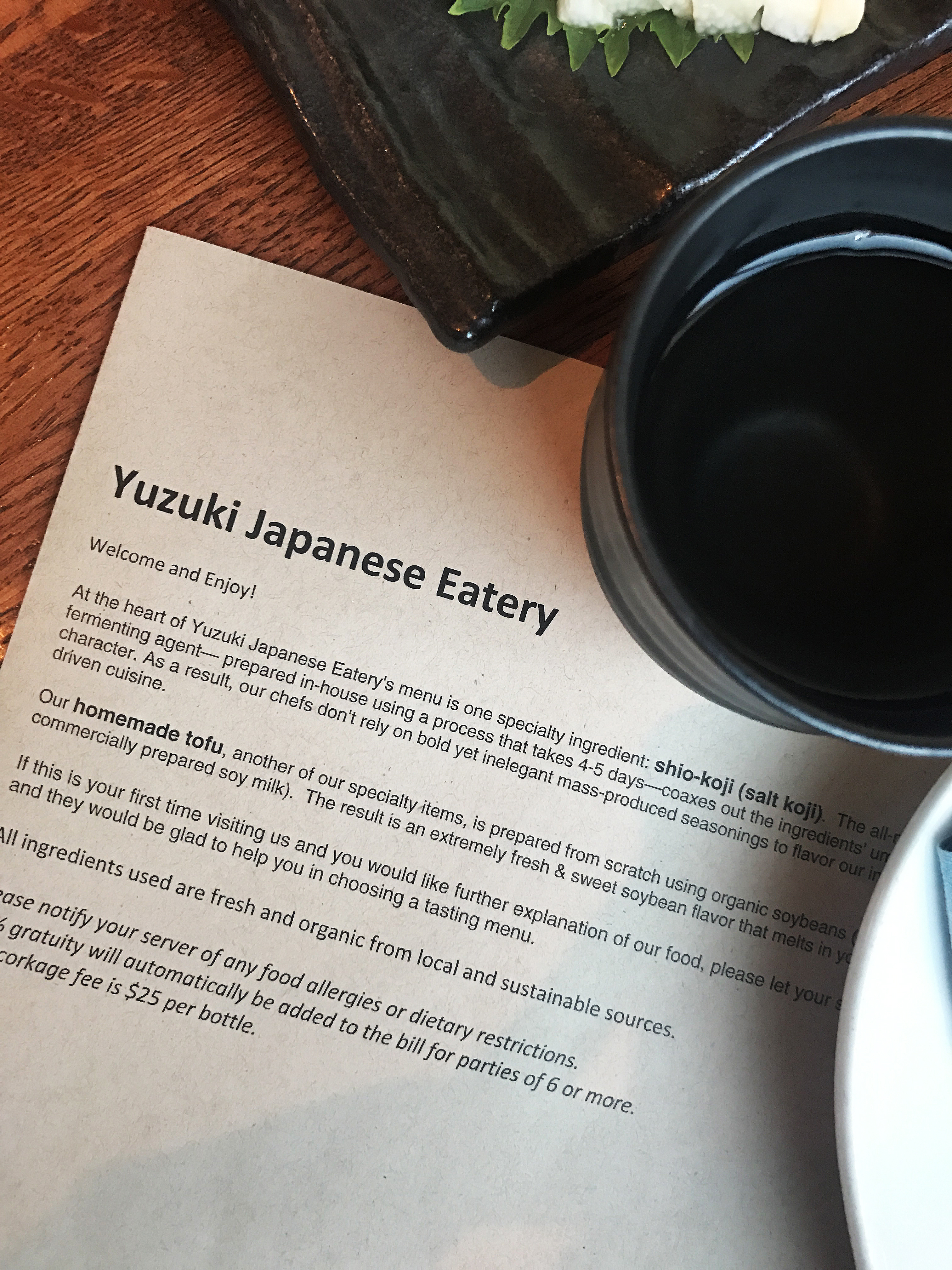 Review: Yuzuki Japanese Eatery