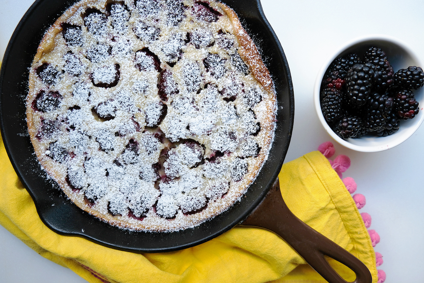 perfect summer clafouti