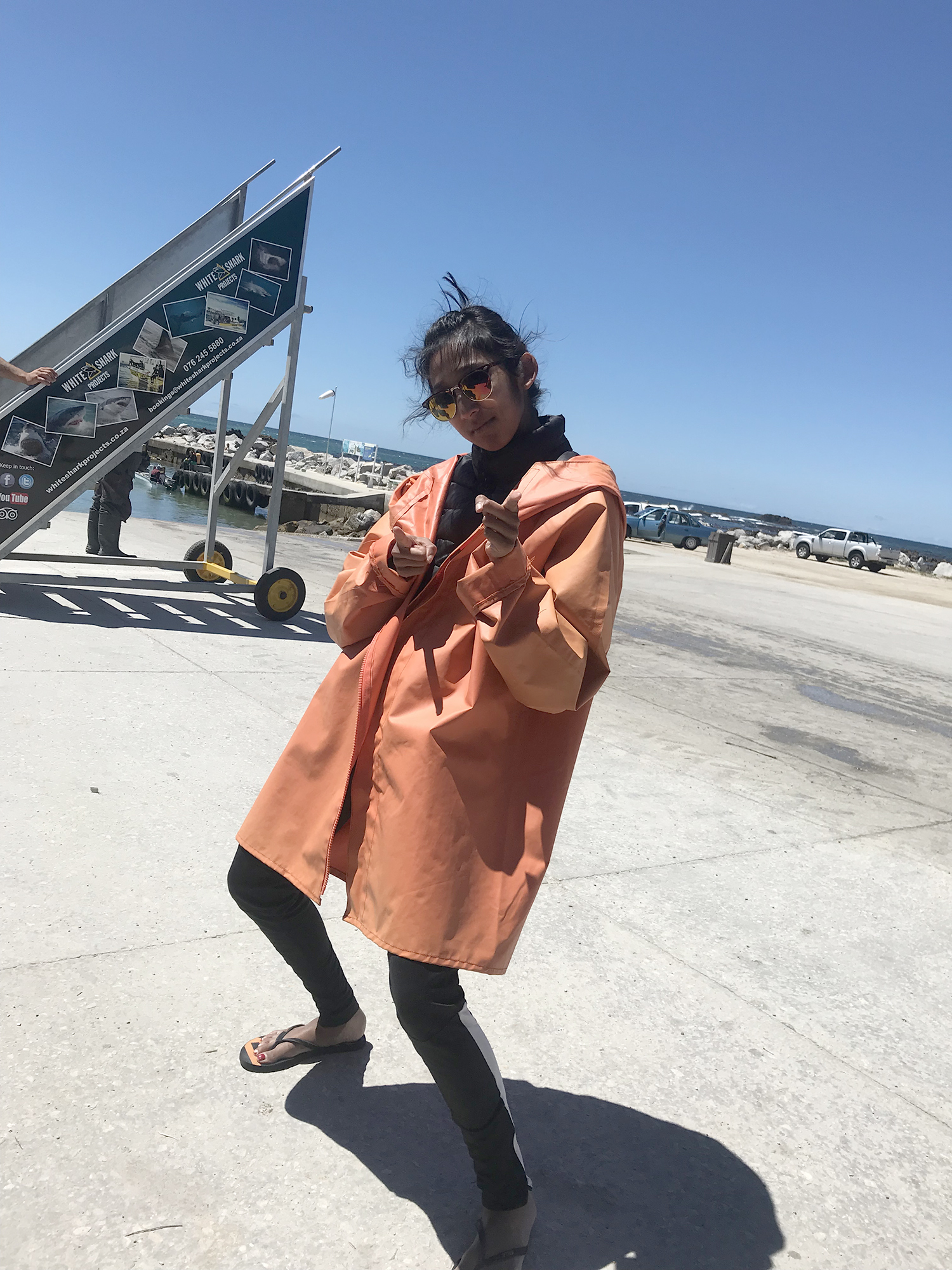 Cape Town // Shikha la mode // shark diving