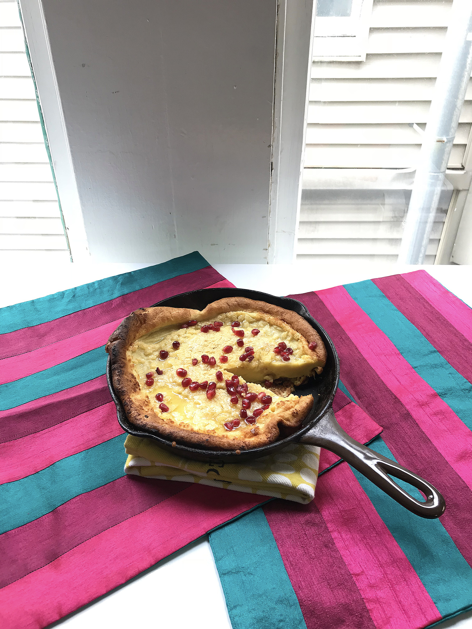 Recipe: Coconut Dutch Baby Pancake // Shikha la mode