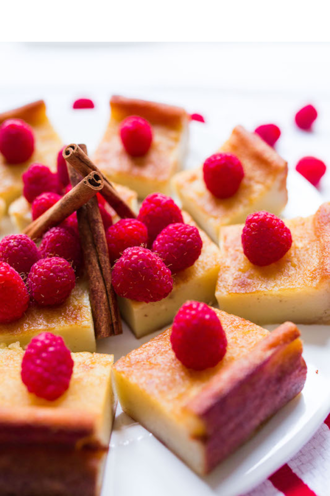 Recipe: mochi cake raspberries