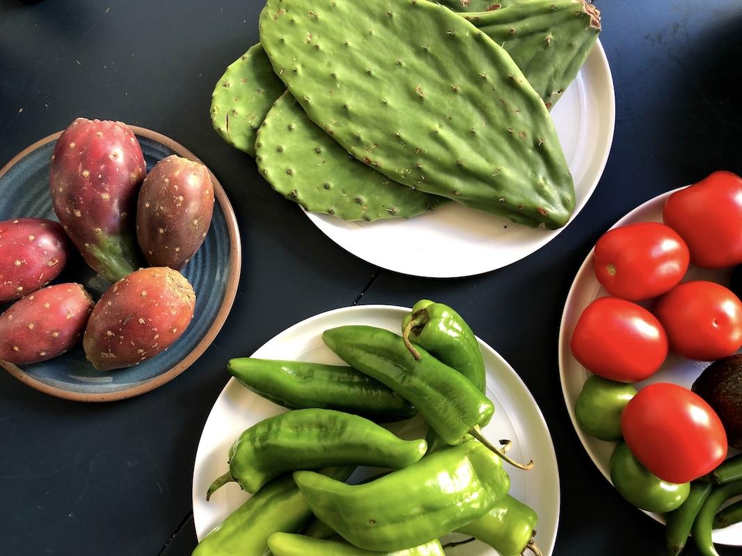 Fresh Mexican ingredients - 2019 recap