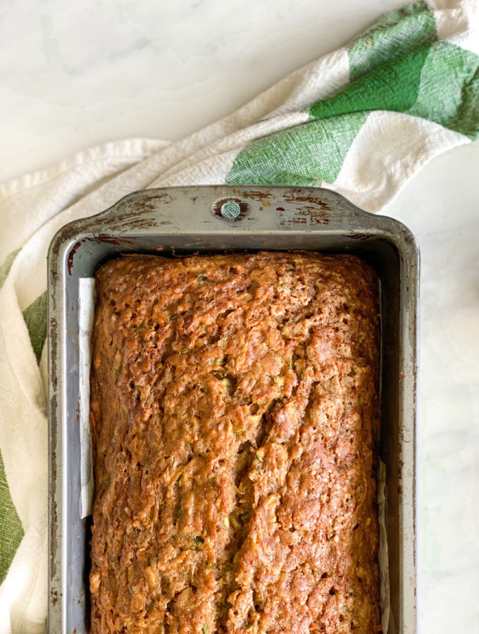 butterscotch zucchini banana bread