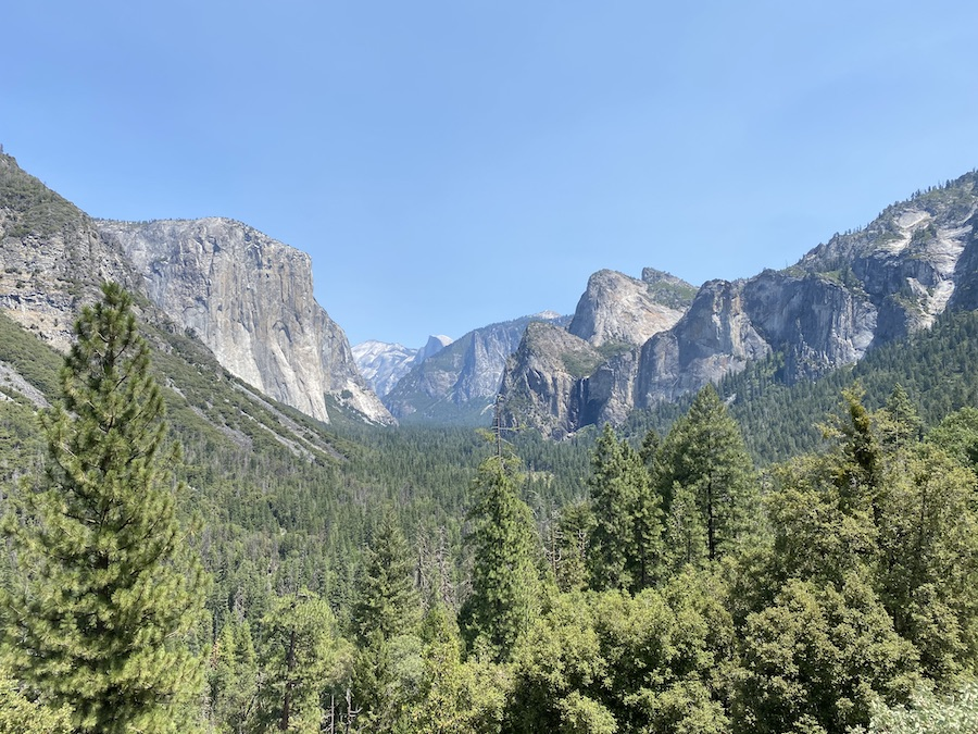 visiting Yosemite during covid