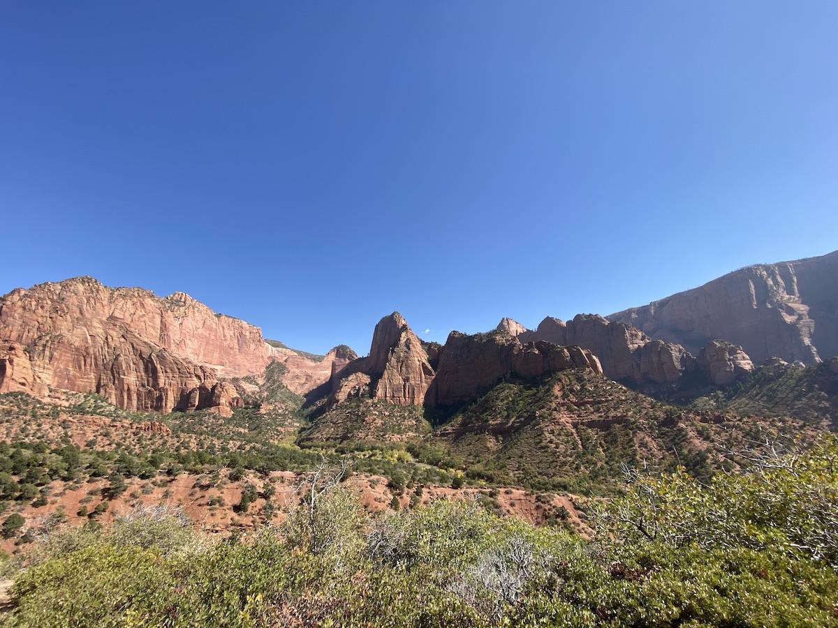 Utah road trip: Kolob Canyon
