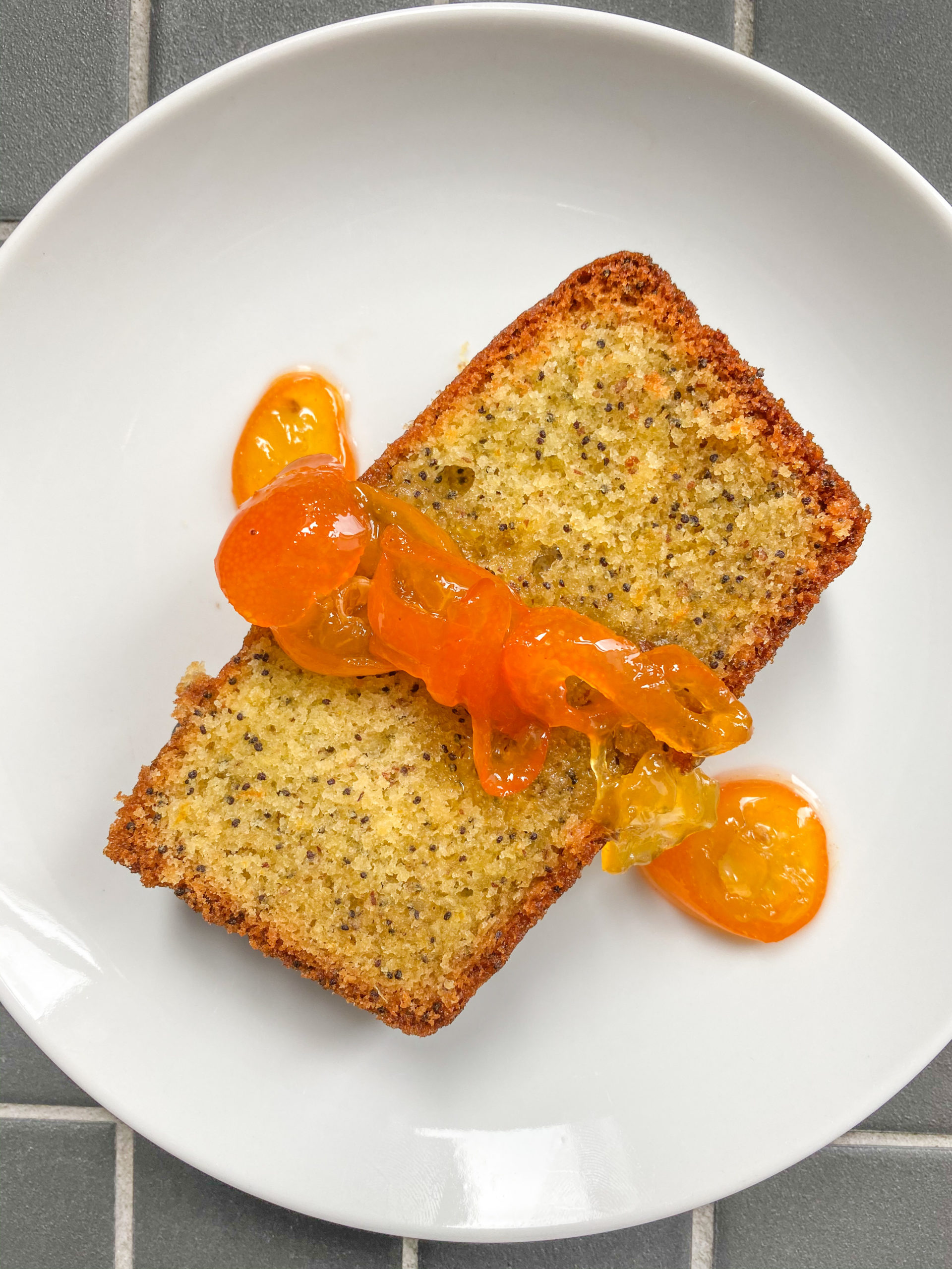 kumquat poppy seed loaf